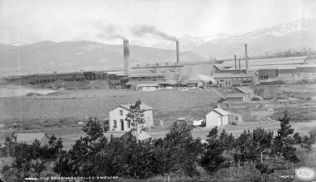 "This William Henry Jackson photograph of ""The Arkansas Valley Smelter"" was likely taken around 1900."
