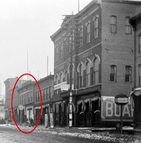 Elias moved the Famous to 318-320 Harrison from the Tabor Opera House block in 1899.