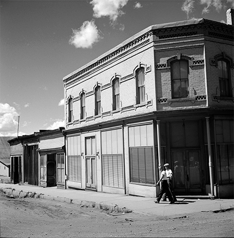 Samuel had his first installment loan office in the this building during 1907, pictured here in 1941.